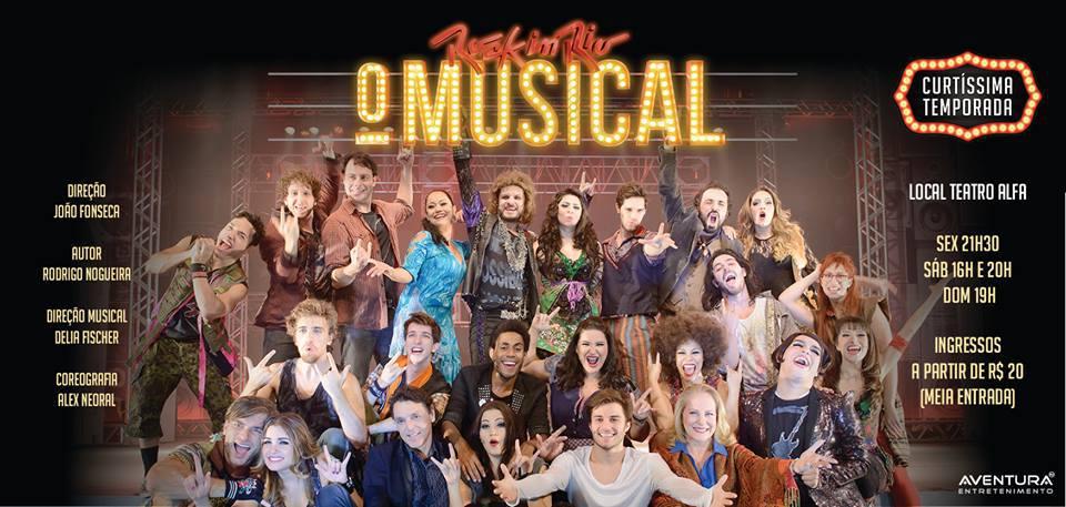 Rock in Rio – O Musical em cartaz no Teatro Alfa | | Acesso Cultural