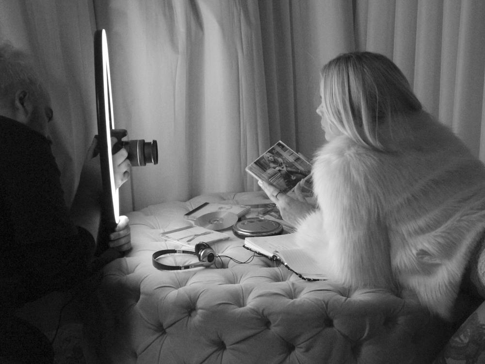Francinne gravou clipe durante quarentena