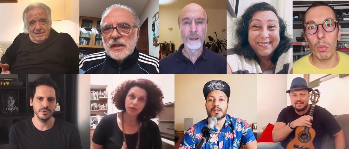 Maestro, atores e artistas participam do V episódio da 'Tirania da minúscula coroa: Covid'