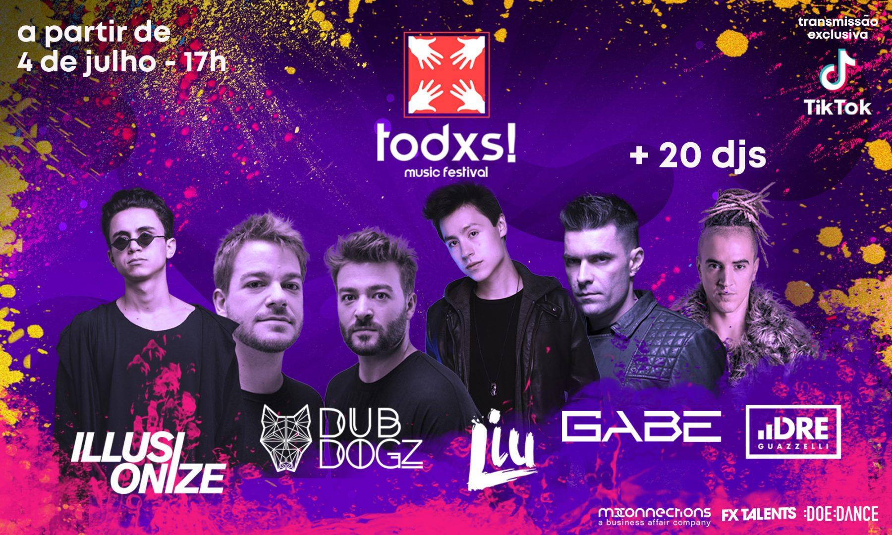 Maior Festival Online de Música Eletrônica do Brasil terá transmissão exclusiva no TikTok