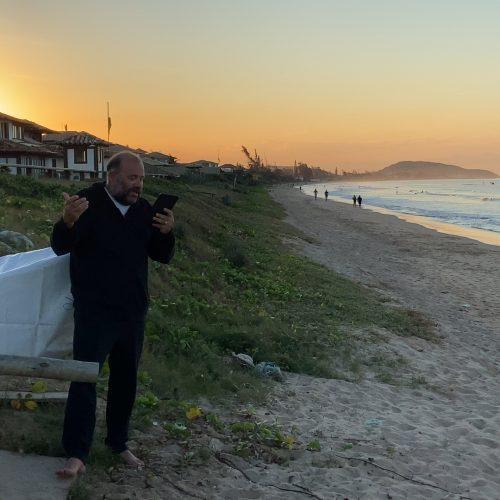 "Daniel Belmonte roda o longa ""Álbum em Família"""