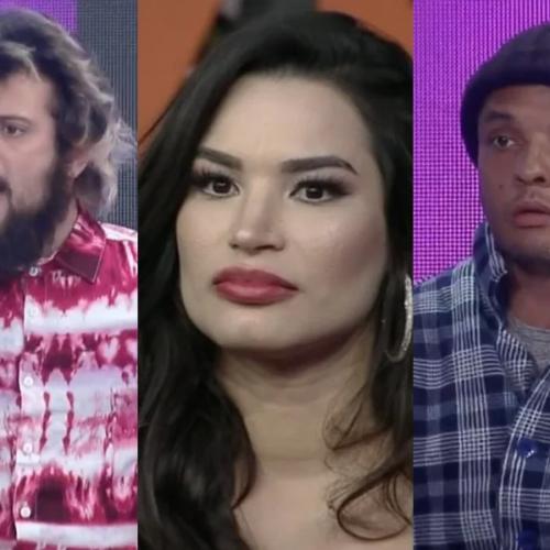 """""""A Fazenda 12"""": Fernandinho Beatbox, Cartolouco e Raissa disputam a Roça de amanhã"""