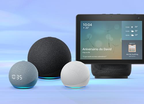 Amazon apresenta nova família Echo - reinventada, por dentro e por fora!