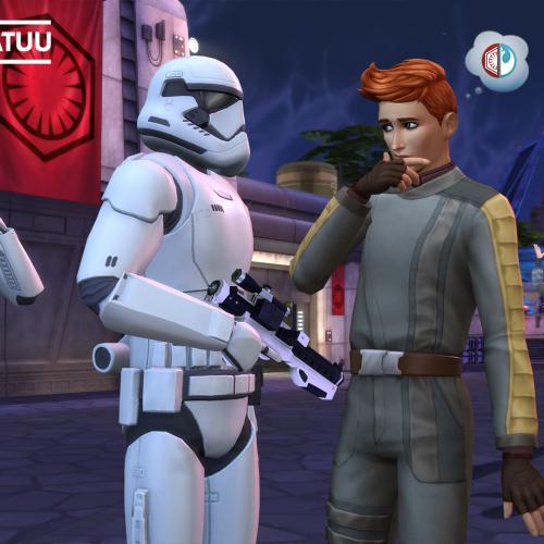 Assista ao novo trailer de jogabilidade de The Sims 4 Star Wars: Jornada para Batuu