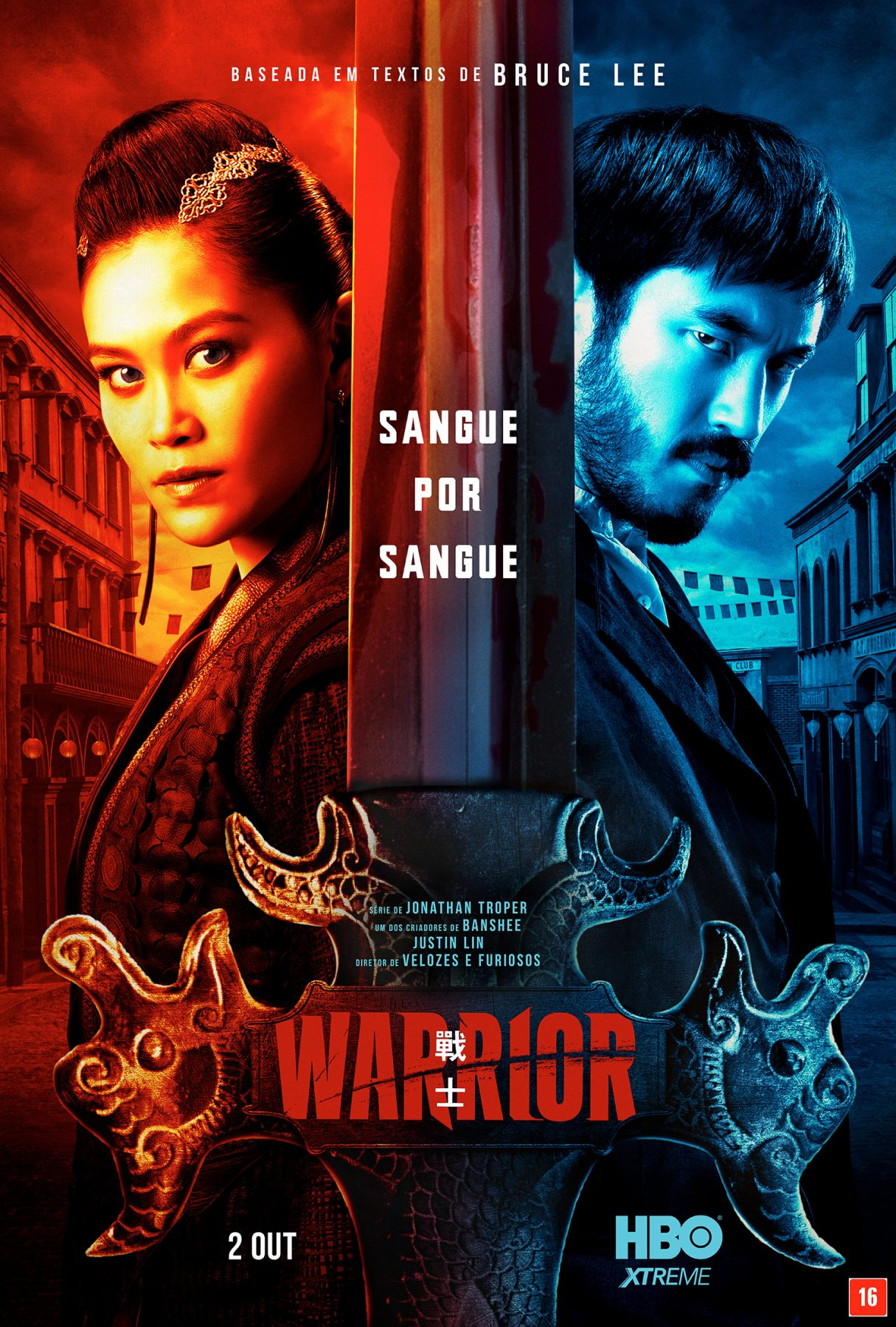 HBO divulga pôster oficial da segunda temporada de Warrior