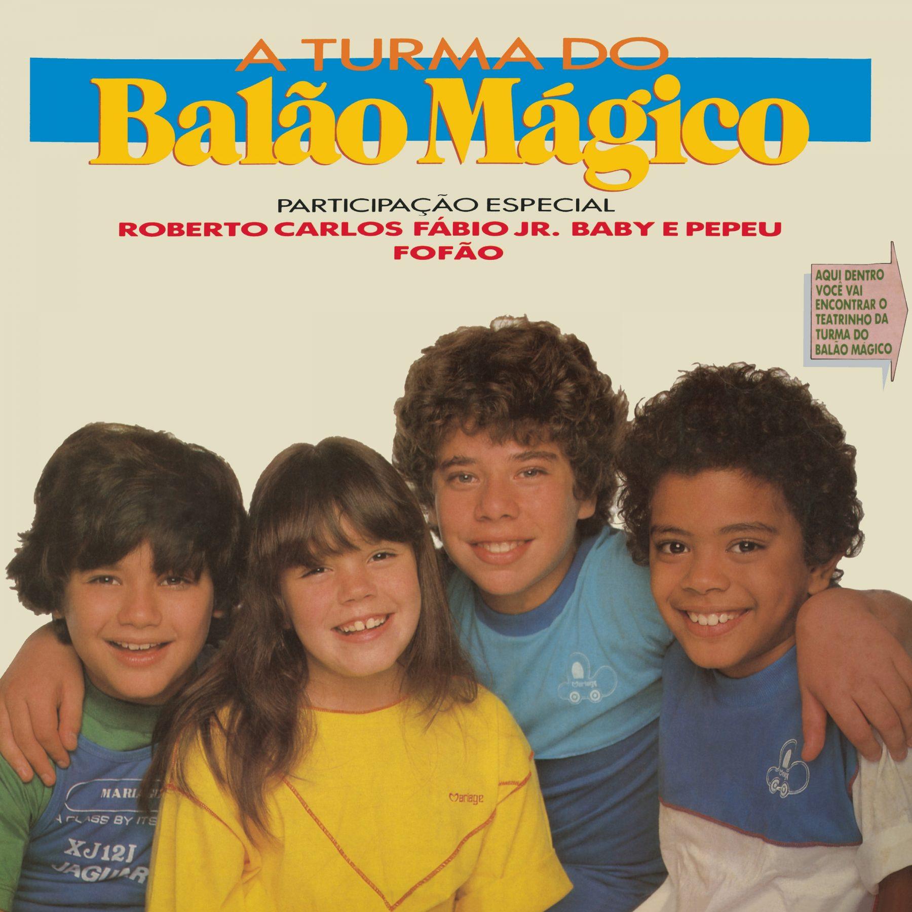 A Turma do Balão Mágico tem três álbuns históricos lançados em streaming