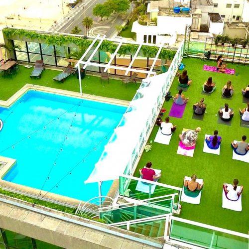 BMW Rooftop Chef estende programação com aula de Yoga