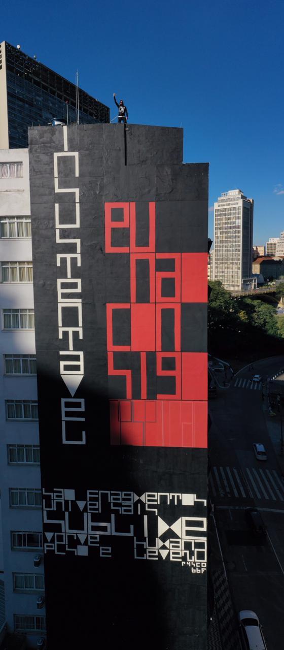 Arte de rua, poesia visual e questões sociais em SP