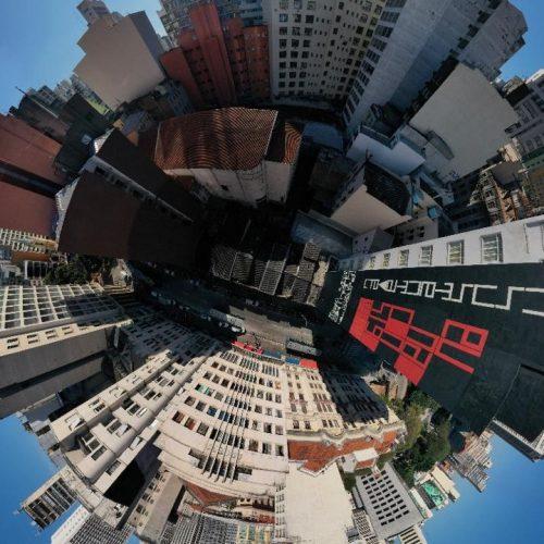 Arte de rua, poesia visual e questões sociais em eventos