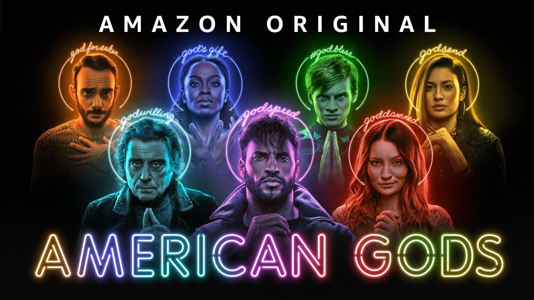 "Amazon Prime Video revela trailer da 3.ª temporada de ""American Gods"""