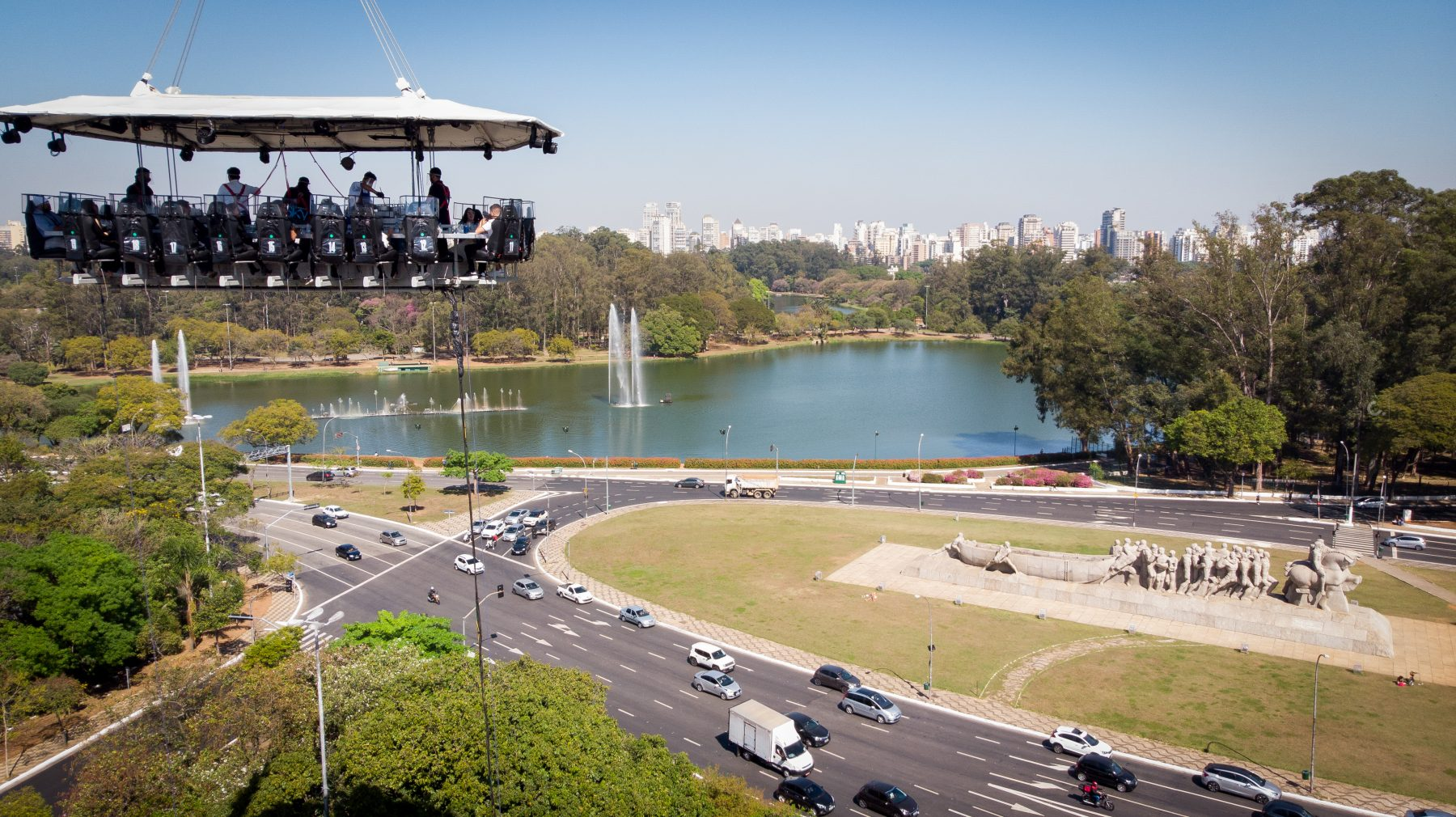 Dinner in the sky 2021 já tem data e local confirmados