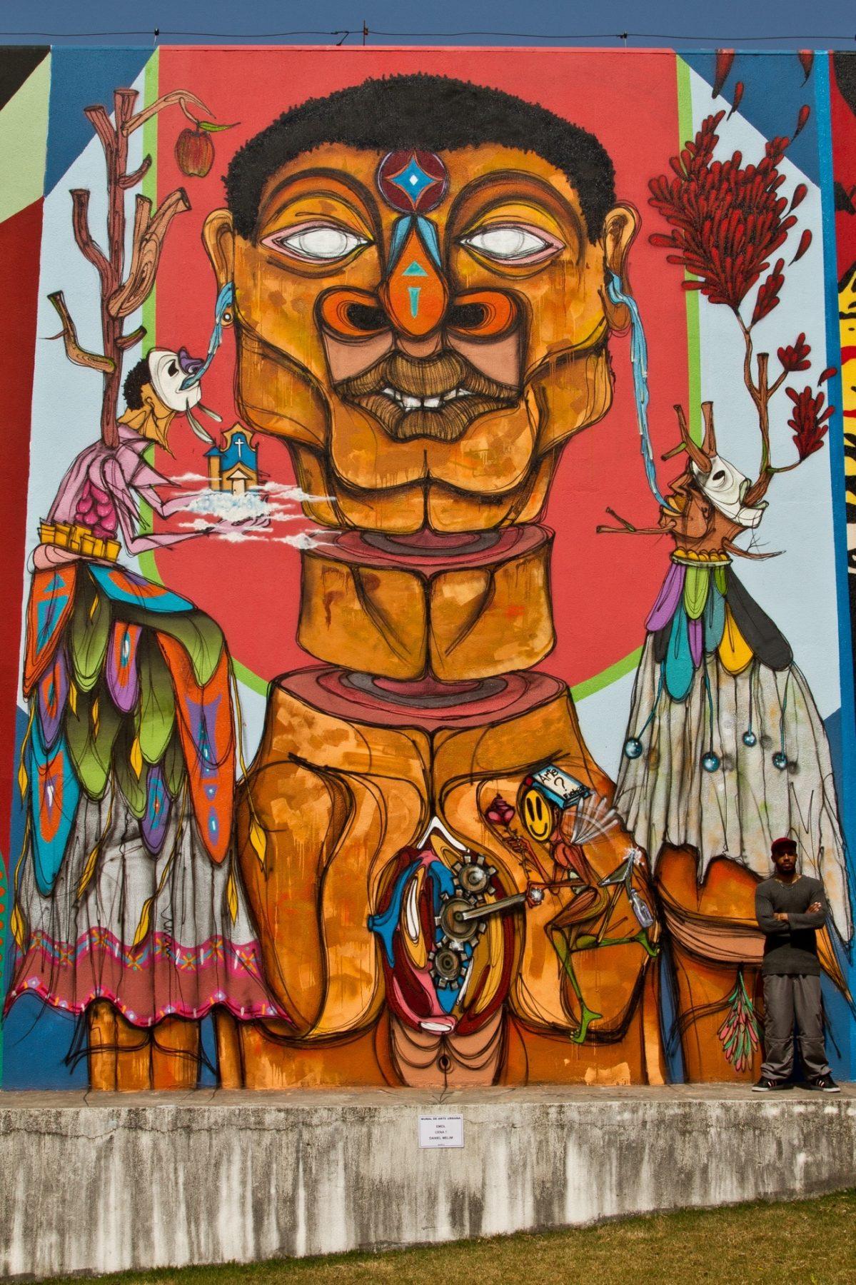 São Bernardo do Campo ganha novos murais no Dia Nacional do Graffiti