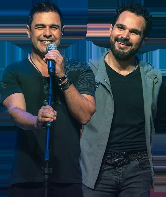 Zezé Di Camargo e Luciano realizam show celebrativo no Espaço das Américas