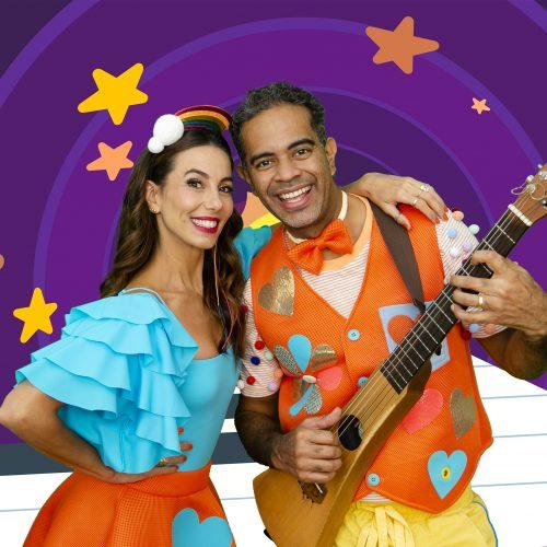 Jair Oliveira e Tania Khalill buscam inserir crianças carentes no mundo do teatro