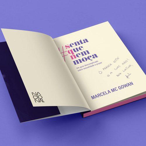 Editora Nacional lança livro de estreia da ex-BBB Marcela Mc Gowan